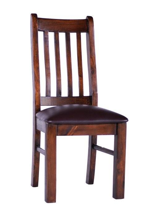 TRINIDAD Dining Chair Leather Pad Seat