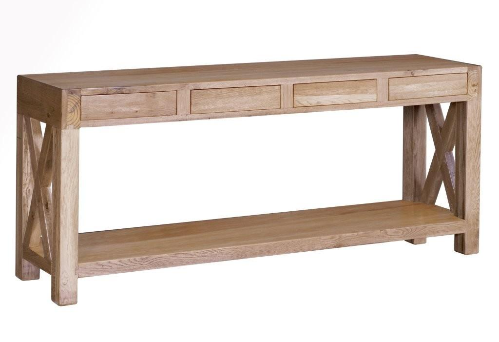 The X 4-Drawer Hall Table